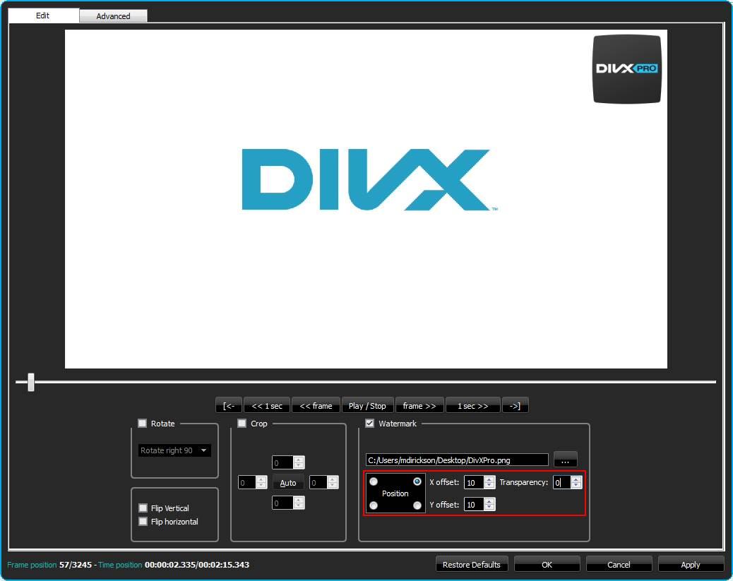 filtros directshow adicionales divx plus player